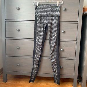 Lululemon leggings high waist Sz 4 (b105)
